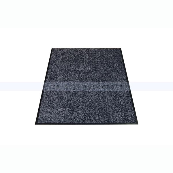 Schmutzfangmatte Miltex Eazycare grau 120 x 180 cm waschbare Schmutzfangmatte 22041