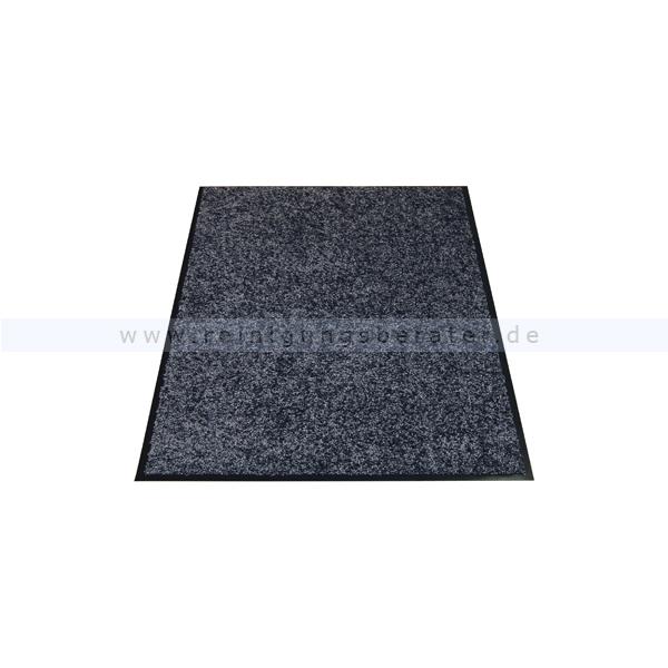 Schmutzfangmatte Miltex Eazycare grau 89,5 x 150 cm waschbare Schmutzfangmatte 22031