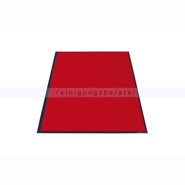 Schmutzfangmatte Miltex Eazycare rot 120 x 180 cm waschbare Schmutzfangmatte 22043