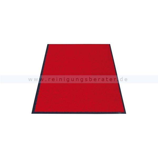 Schmutzfangmatte Miltex Eazycare rot 60 x 90 cm waschbare Schmutzfangmatte 22023