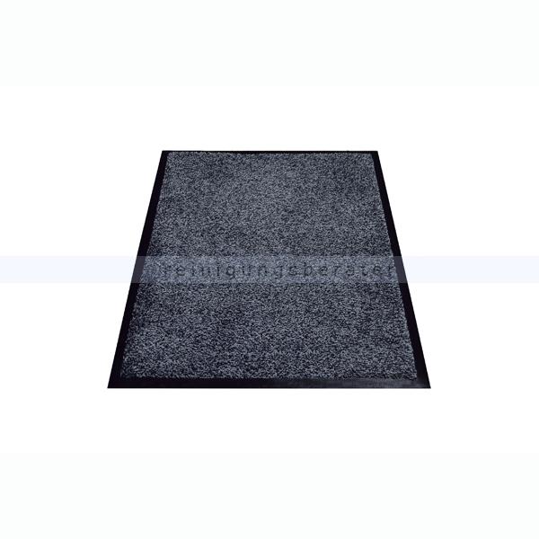 Schmutzfangmatte Miltex Karaat anthrazit 115 x 240 cm waschbare Schmutzfangmatte 24045