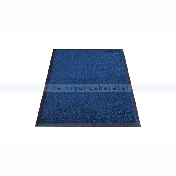 Schmutzfangmatte Miltex Karaat blau 85 x 150 cm waschbare Schmutzfangmatte 24024