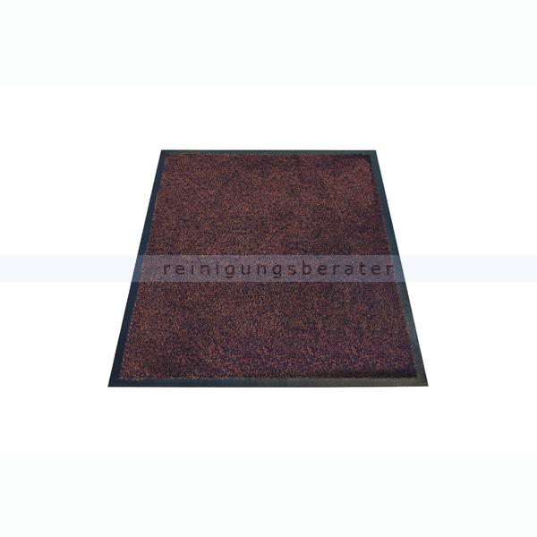 Schmutzfangmatte Miltex Karaat braun 115 x 180 cm waschbare Schmutzfangmatte 24032