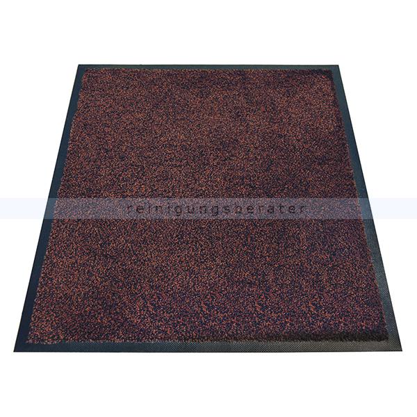 Schmutzfangmatte Miltex Karaat braun 85 x 150 cm waschbare Schmutzfangmatte 24022