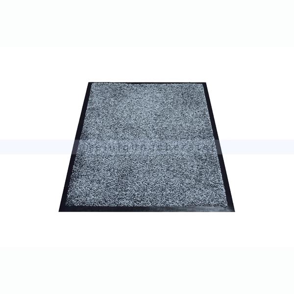 Schmutzfangmatte Miltex Karaat grau 85 x 150 cm waschbare Schmutzfangmatte 24021