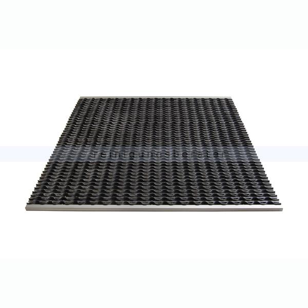 Schmutzfangmatte Miltex KoBe Aluminium 785 x 585 mm Schmutzfangsystem 38020