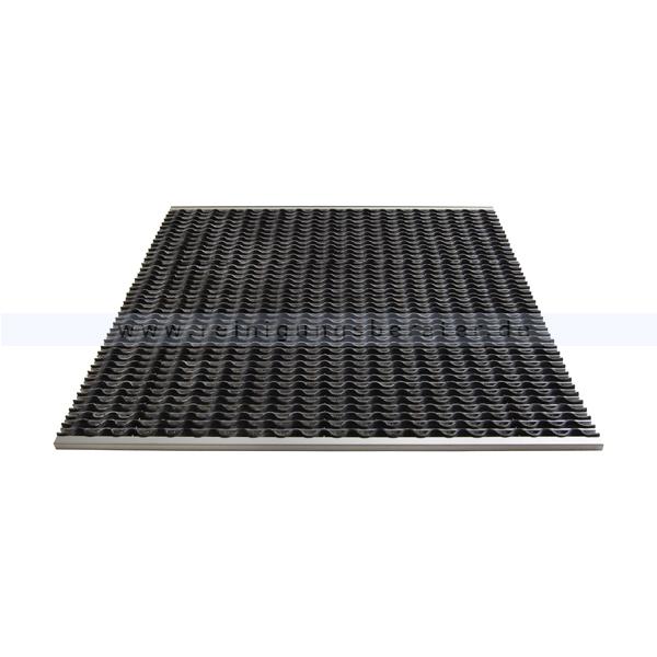 Schmutzfangmatte Miltex KoBe Aluminium 985 x 785 mm Schmutzfangsystem 38040