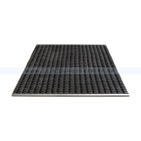 Schmutzfangmatte Miltex KoBe Aluminium 985 x 985 mm Schmutzfangsystem