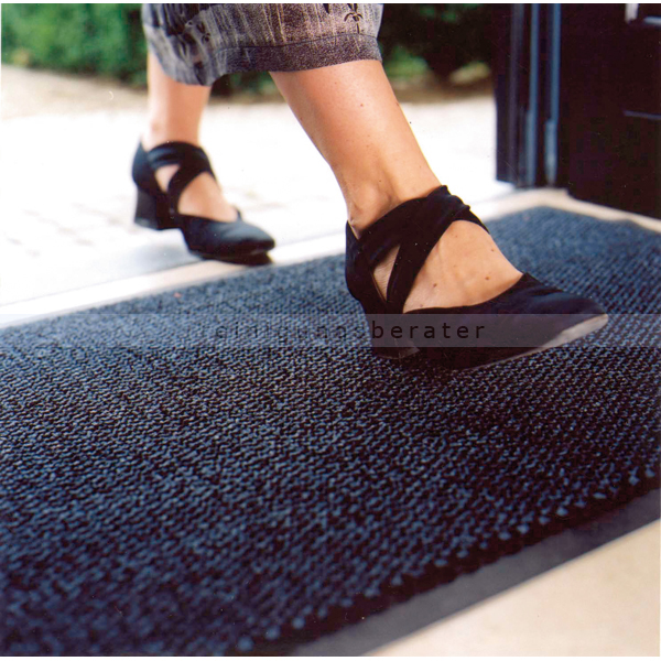 schmutzfangmatte miltex pp blau 90 x 150 cm. Black Bedroom Furniture Sets. Home Design Ideas