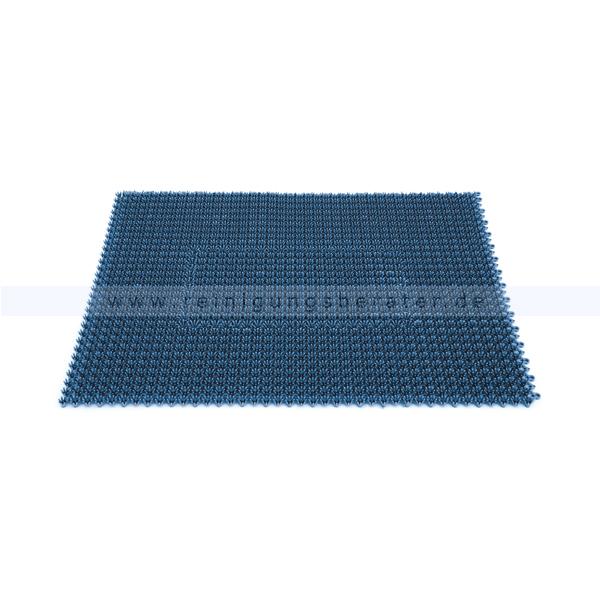Schmutzfangmatte Miltex Step In metallic blau 57 x 86 cm Schmutzfangmatte 13044