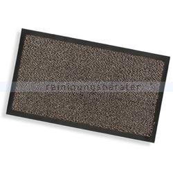 Schmutzfangmatte Nölle braun meliert 90 x 150 cm