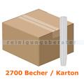 Schnapsglas klar 2 cl im Karton 2700 Stück