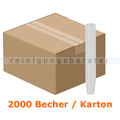 Schnapsglas klar 4 cl im Karton 2000 Stück