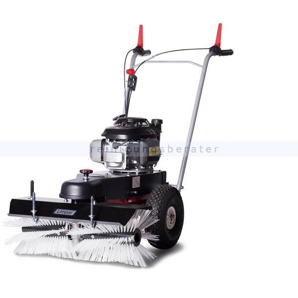 Limpar 67 Kehrmaschine mit Winterbürsten und Honda GCV Motor hochwertige Kehrmaschine mit Honda GCV 160 OHC Motor FKW-F3P