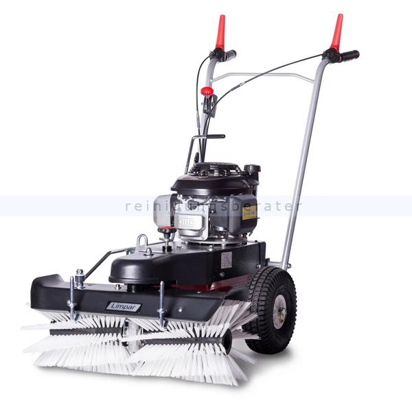 Limpar 72 Kehrmaschine mit Winterbürsten und Honda GCV Motor hochwertige Kehrmaschine mit Honda GVC 160 OHC Motor FKV-G3P