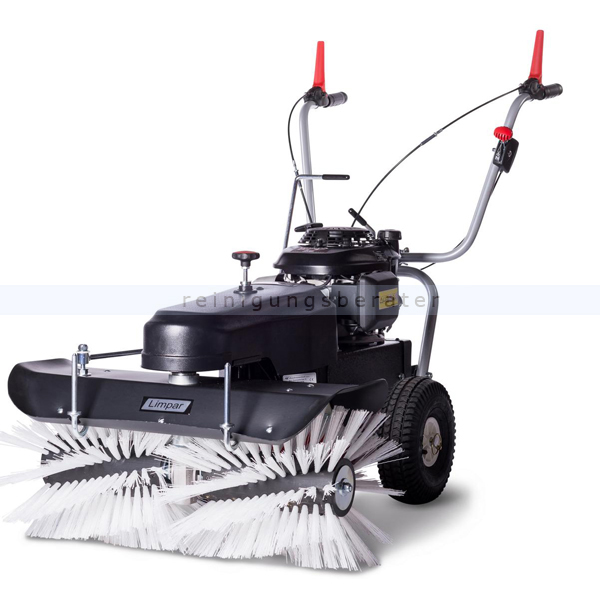 Limpar 78 Kehrmaschine mit Winterbürsten und Honda GCV Motor hochwertige Kehrmaschine mit Honda GCV 160 OHC Motor FKX-F3P