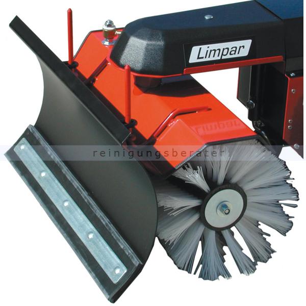 Limpar Schneeräumschild für Limpar 78 und 82 Vario Schneeschild 80 cm für Limpar Kehrmaschinen FSS-B82