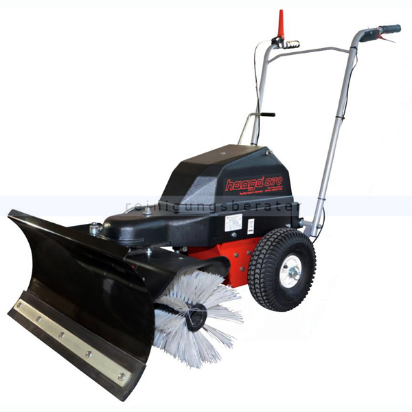 haaga 870 accu kehrmaschine schneer umer mit schneeschild. Black Bedroom Furniture Sets. Home Design Ideas