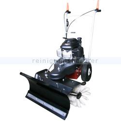 Schneeräumer Haaga 870 Kehrmaschine mit Schneeschild