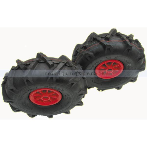 Limpar Räder mit Ackerstollenprofil für Limpar Kehrmaschinen 4AZ-S15