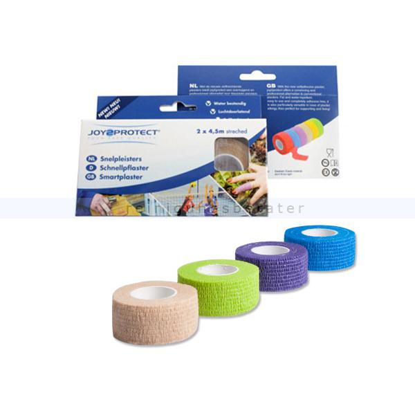 Schnellpflaster Ampri Rollenpflaster 2 cm x 4,5 m blaues blutstillendes Schnellpflaster, 2 Rollen pro Box 50001 - 09842-B