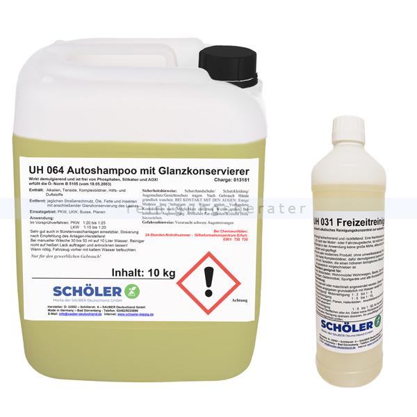 Schöler UH 064 Autoshampoo mit Konservierer 10 kg