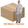 Schutzanzug Abena Schutz-Einweg-Overall weiß S/M Karton