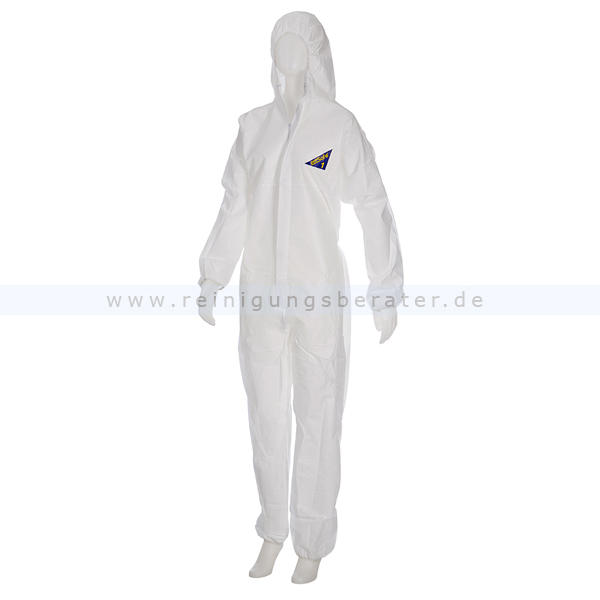 Schutzanzug Ampri Med Comfort Safe Protect 1 Overall weiß M