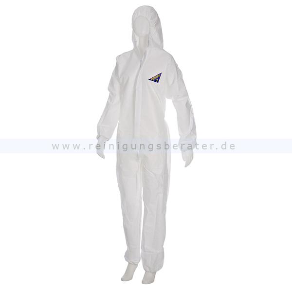 Schutzanzug Ampri Med Comfort Safe Protect 1 Overall weiß XL