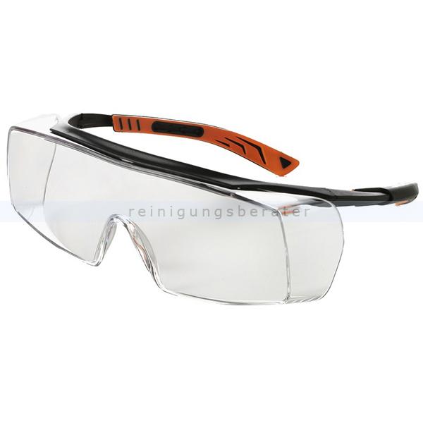 Feldtmann Schutzbrille 5X7 klar Überbrille für Korrektionsbrillenträger 41956