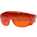 Schutzbrille Ampri PURO Arbeitsschutzbrille orange