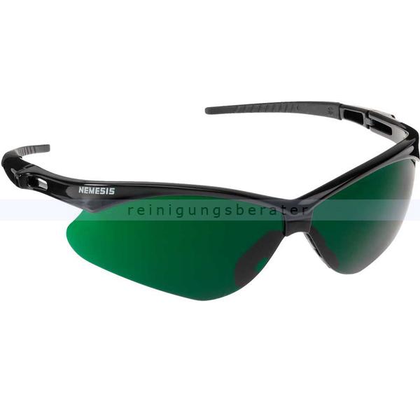 Schutzbrille Kimberly Clark JACKSON SAFETY V30 NEMESIS Grün IR UV 5.0 Schweißerschutzsichtscheiben, beschlagfrei 25694
