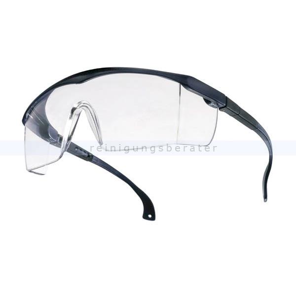 Feldtmann Schutzbrille Tector BASIC klar klassische Schutzbrille mit integriertem Seitenschutz 41931