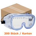 Schutzbrille Thor Panorama Arbeitsschutzbrille klar Karton