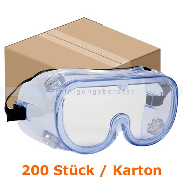 Schutzbrille Thor Panorama Arbeitsschutzbrille klar Karton 200 Brillen, Zulassung: EN 166:2001, klar aus Polycarbonat 1000004186