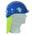 Zusatzbild Schutzhelm TR 2000, Farbe blau, EN 397 / EN 50365