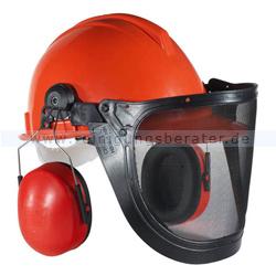 Schutzhelm Waldarbeiter Helmset