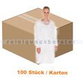 Schutzkittel Ampri Besuchermantel weiss XL Karton