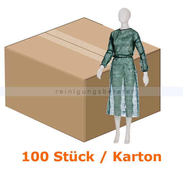 Schutzkittel Ampri Med Comfort dunkelgrün medium XL/XXL
