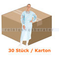 Schutzkittel Face Guard Schutzkittel EN 14126 PE blau XL/XXL