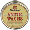 Schutzwachs Poliboy SCHRADERS Antik Wachs 200 ml