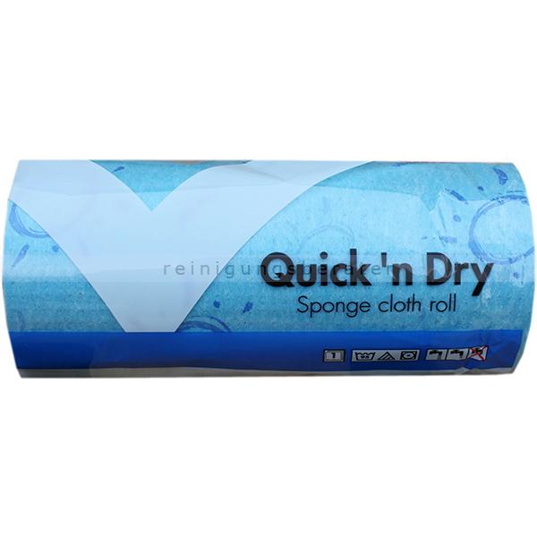 Schwammtuch Vileda Quick n Dry Rolle