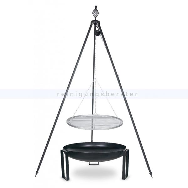 farmcook grill pan36 dreibein oskar edelstahlrost e01036. Black Bedroom Furniture Sets. Home Design Ideas