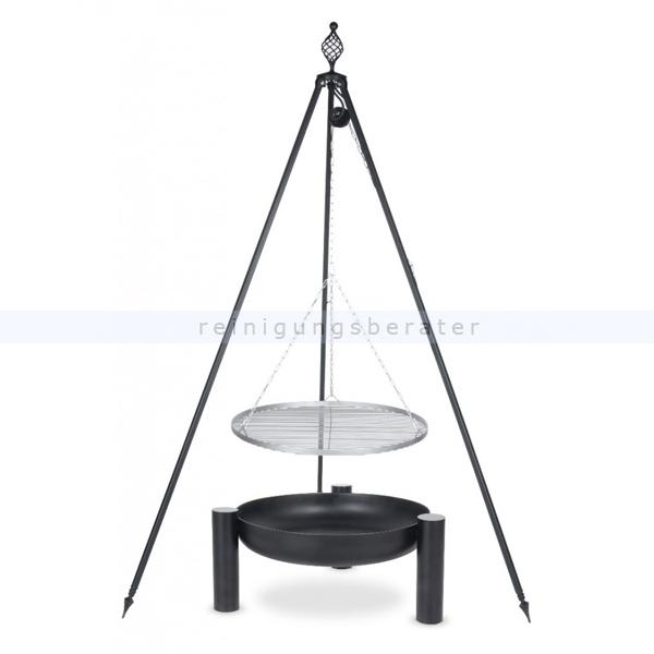 farmcook grill pan38 dreibein oskar edelstahlrost e01055. Black Bedroom Furniture Sets. Home Design Ideas