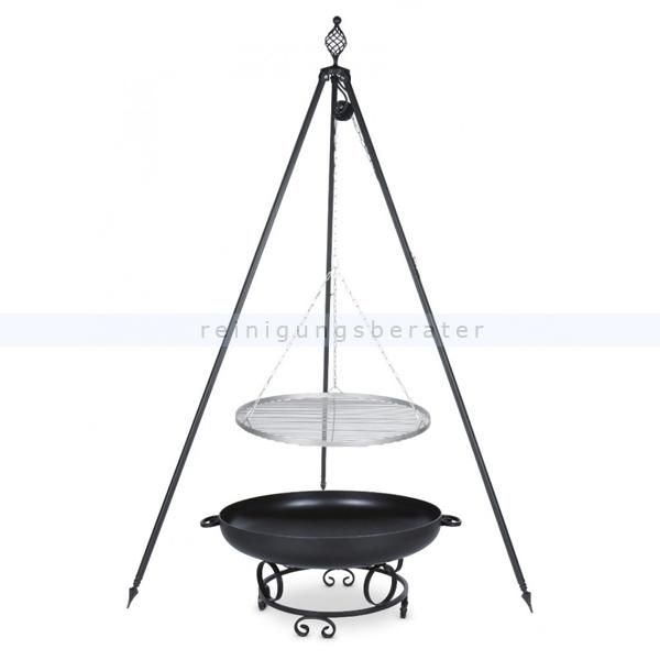 farmcook grill pan43 dreibein oskar edelstahlrost e01104. Black Bedroom Furniture Sets. Home Design Ideas