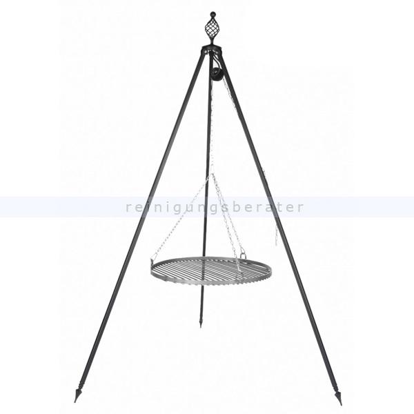 schwenkgrill nortpol farmcook mit rost aus rohstahl 80 cm bonanzagrill dreibein 5902280590453 ebay. Black Bedroom Furniture Sets. Home Design Ideas