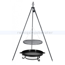 farmcook grill pan32 dreibein oskar rohstahlrost 80cm e01003. Black Bedroom Furniture Sets. Home Design Ideas