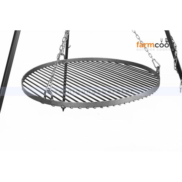 farmcook schwenkgrill mit feuerschale pan38 rohstahl e00720. Black Bedroom Furniture Sets. Home Design Ideas