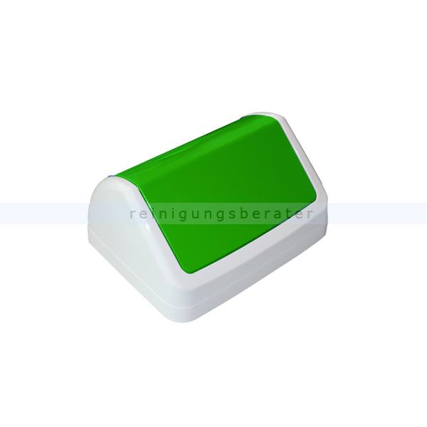 TTS Schwingdeckel für Max Behälter 50 L grün Kunststoff Schwingdeckel als Zubehör für den offenen Eimer 00005112