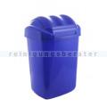 Schwingdeckeleimer Fala aus Kunststoff 15 L, blau